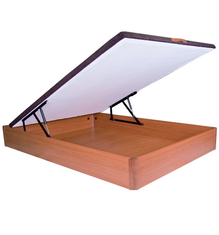 Canap madera f brica colchones zaragoza for Canape 90x190